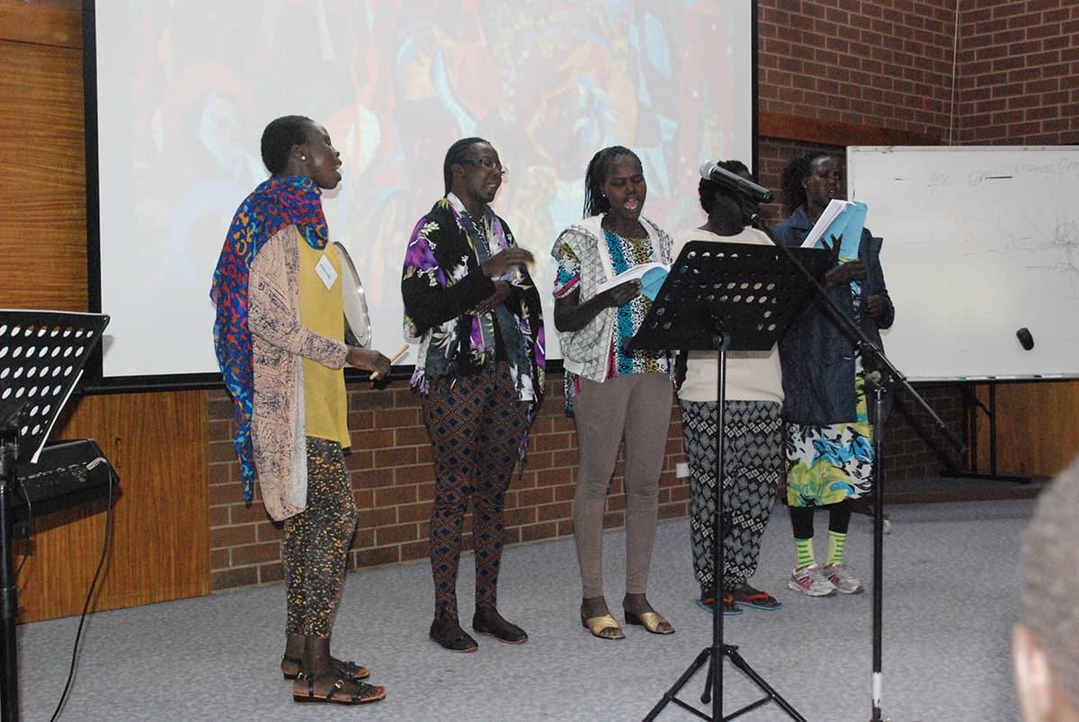 Sudanese-singing